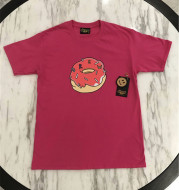 Drew Donuts rose and gold T-shirt