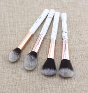 Single Marble Makeup Brush Pattern Flame Repairing Highlight Blush Brush