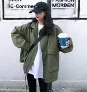 Women's Loose Casual Tooling Windbreaker Jacket