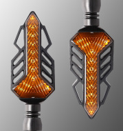 Modified Parts Off-road Vehicle Running Water Light Direction Light