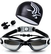 Swimming Goggles Set HD Waterproof Anti Fog Swimming Goggles