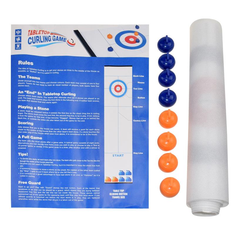 Desktop Curling Game - Shuffleboard