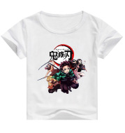 Game Print Top Round Neck Short-Sleeved T-Shirt Half-Sleeved Shirt
