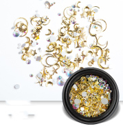 Nail Art Jewelry Diamond Shell Pearl Small Accessories