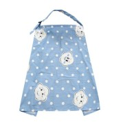 Go Out Lactation Smock With Anti Light Apron