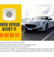 Car Head Up GPS Speedometer