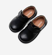 British Boys Show Leather Shoes Black Leather Shoes