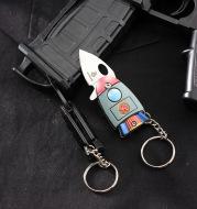 Mini Pocket Portable Multifunctional Outdoor Key Ring