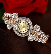 Fashion Ladies Bracelet Watch Diamond Trend Quartz Watch