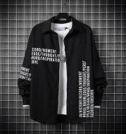 Shirt Men Spring And Autumn Korean Fashion Casual Long Sleeves