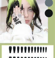 Black Diamond Nail Sheet Finishes 24 Manicure Pages
