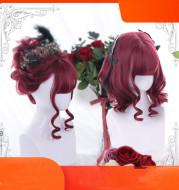 Harajuku Soft Girl Lolita Wig Lolita Gentle Curly Japanese Cute Short Hair