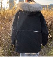 Korean Couple Dongdaemun Cotton-Padded Jacket For Men And Women