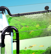 Fish Tank Filter Barrel Water Inlet And Outlet Accessories Rain Shower Pipe