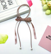 Pearl Hair Rope High Elasticity Tie Hair Knotted Rubber Band