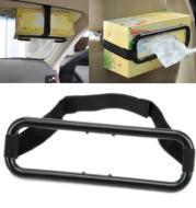Car Sun Visor Tissue Holder Seat Back Tissue Box Cover
