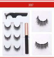 Magnetic Attraction Type Five Magnet Eyelash Free Glue