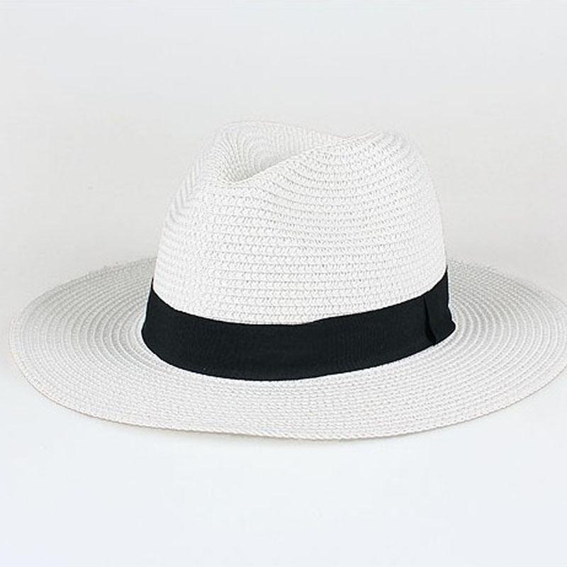 Chapeau de paille panama plat 4
