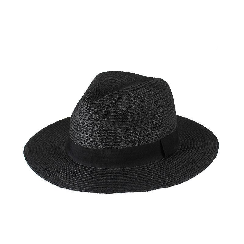 Chapeau de paille panama plat 5