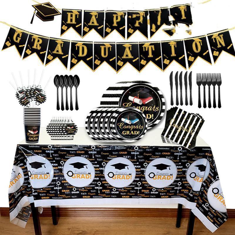 Graduation Party Decoration Set