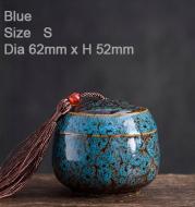 Memorial Container Pet Ashes Casket Hand-painted Ceramics