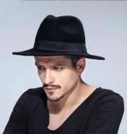 Woolen Men's Felt Hat British Style Jazz Hat