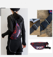 Men's And Women's Diagonal Belt Bag Outdoor Sports Belt Bag