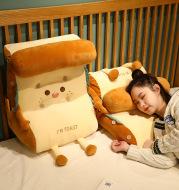 Toast Bread Bedside Cushion Back Pillow With Headrest Sofa Office Bay Window Waist Pillow Waist Support Waist Neck Pillow