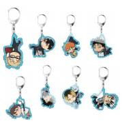 New Volleyball Youth Transparent Acrylic Keychain Stand