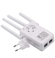 Four Antenna Wireless Router Repeater