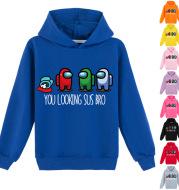 Cuhk Cartoon Print Fashion Trend Hoodie Sweater
