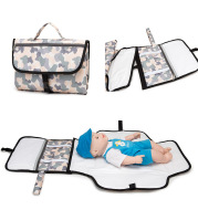 Newborn Multifunction Travel Waterproof Portable Diaper Change Pad Cover Bag Baby Changing Table Foldable Mat