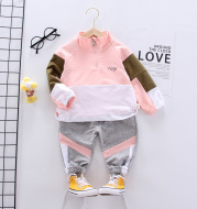 Sports Two-piece Fashion Boy Baby Spring And Autumn Outfit