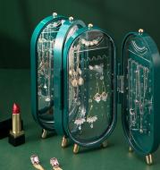 Jewelry Storage Box Earring Display Stand Bracelet Necklace Storage Box Foldable Storage Rack