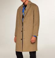 New British Men's Windbreaker Woolen Jacket