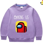 Spring And Autumn Cross-Border Foreign Trade New Small And Medium-Sized Children's Round Neck Sweater