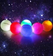 Waterproof LED  Balls For Night Training High Hardness Material For  Practice Balls