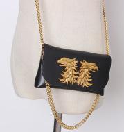 Fashion Metallic Chain Ssangyong Waist Bag