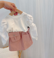 Fashionable All-match Skirt Baby Short Skirt Western Style