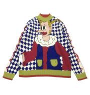 Japanese Childlike Double-sided Jacquard Thick Sweater