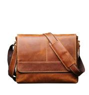 Vintage Distressed Men's Shoulder Bag