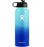 Plastic Spray Gradual Change Space Bottle Stainless Steel  Water Bottle
