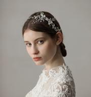 Vintage Leaf Branch Bridal Hair Comb Wedding Accessories