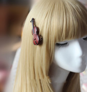Guitar Decoration Hairpin Soft Girl
