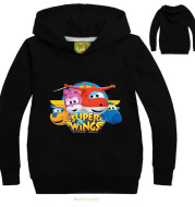 Years Boys Hoodie Clothes Super Wings Costume Kids Autumn