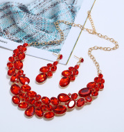 Necklace Set Necklace Earrings Jewelry Two Piece Set