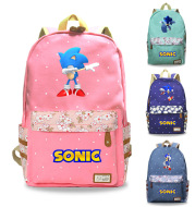 Floral Small Fresh Cartoon Game Pattern Backpack