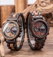 Fashion Chronograph Calendar Laser Watch