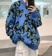 Winter Hong Kong Style Thick Sweater Loose And Versatile