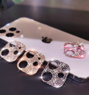 Fancy Diamond Lens Film Apple 11ProMax Rear Camera Metal Ring Phone Sticker